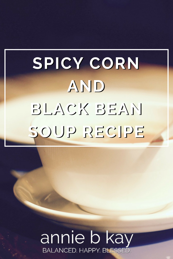 Spicy Corn and Black Bean Soup Recipe
