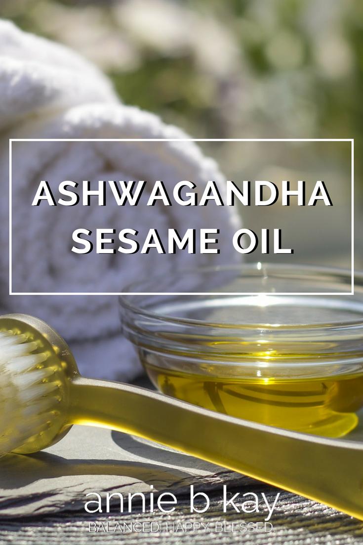 Ashwagandha Sesame Oil