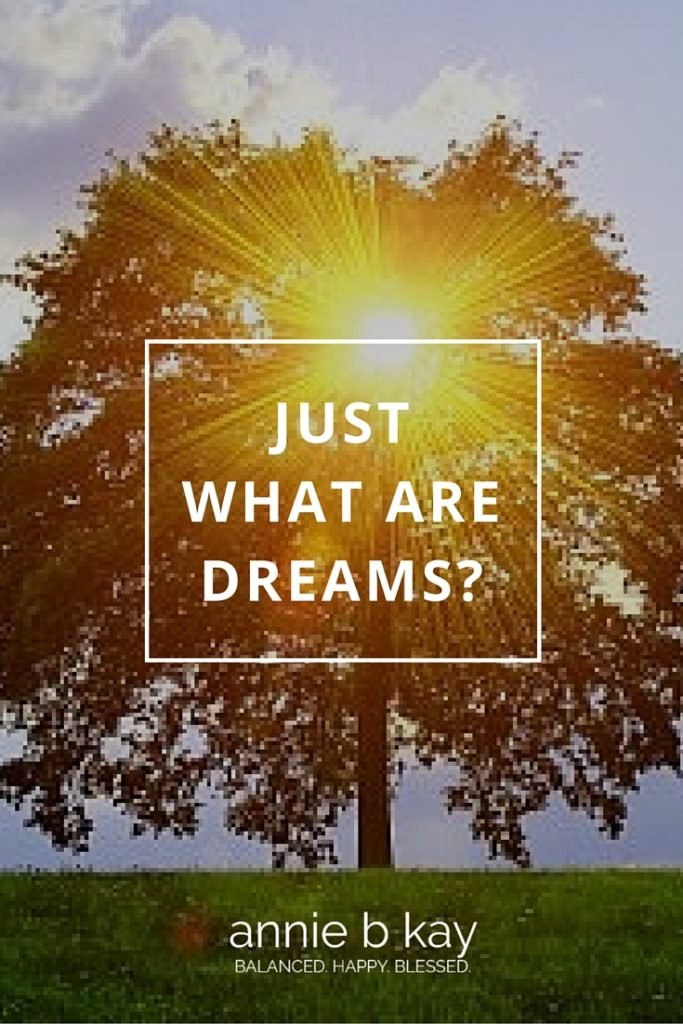 Just What are Dreams? by Annie B Kay Pinterest