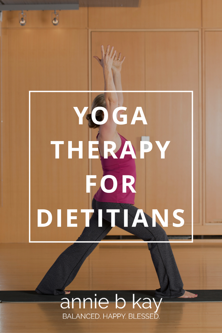 Yoga Therapy in Dietetics – Here Comes FNCE