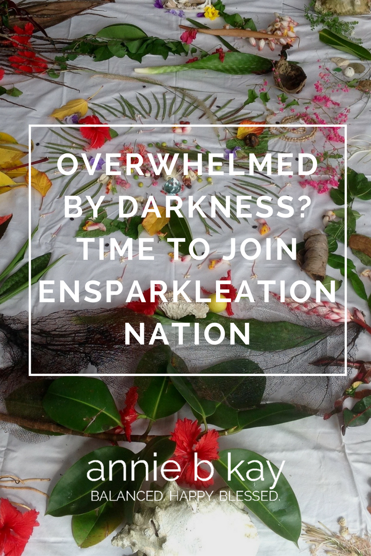 Overwhelmed by Darkness? Time to Join Ensparkleation Nation