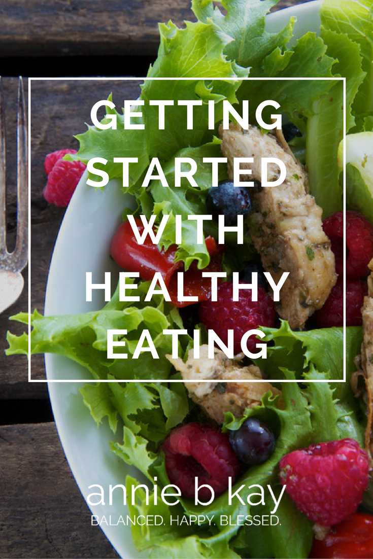 Getting Started with Healthy Eating