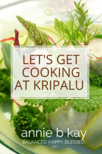 Let's Get Cooking at Kripalu