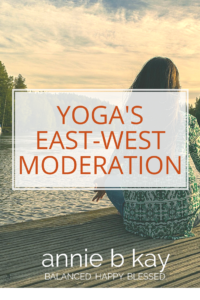 Yoga's East-West Moderation
