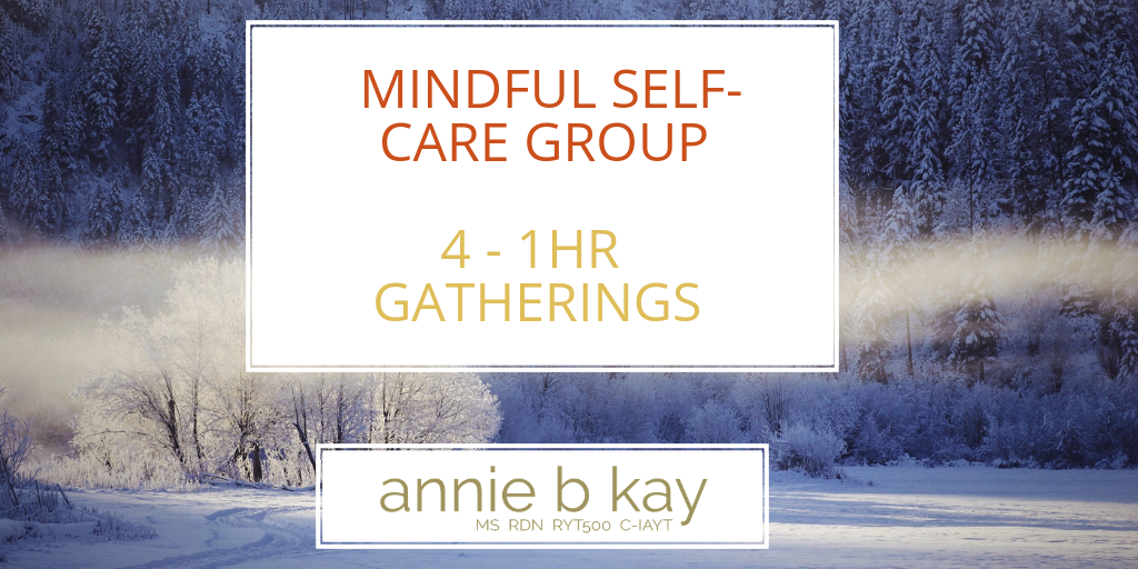 Mindful Self-care online group