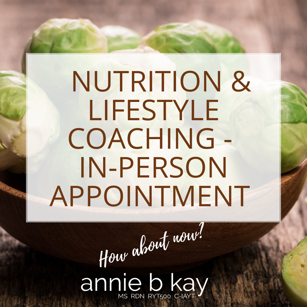personal nutrition and lifestyle coaching