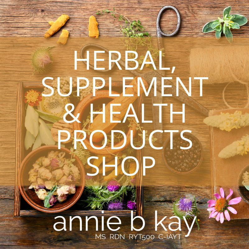 herbal supplements natural products